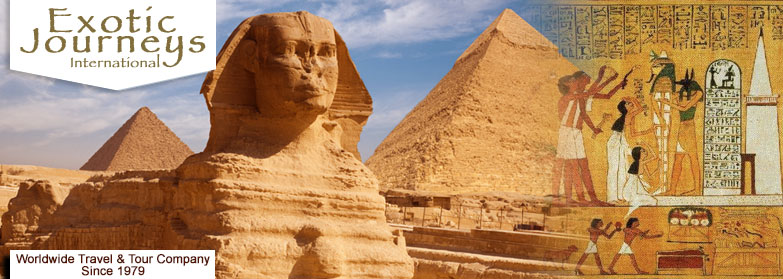 Egypt escorted vacation